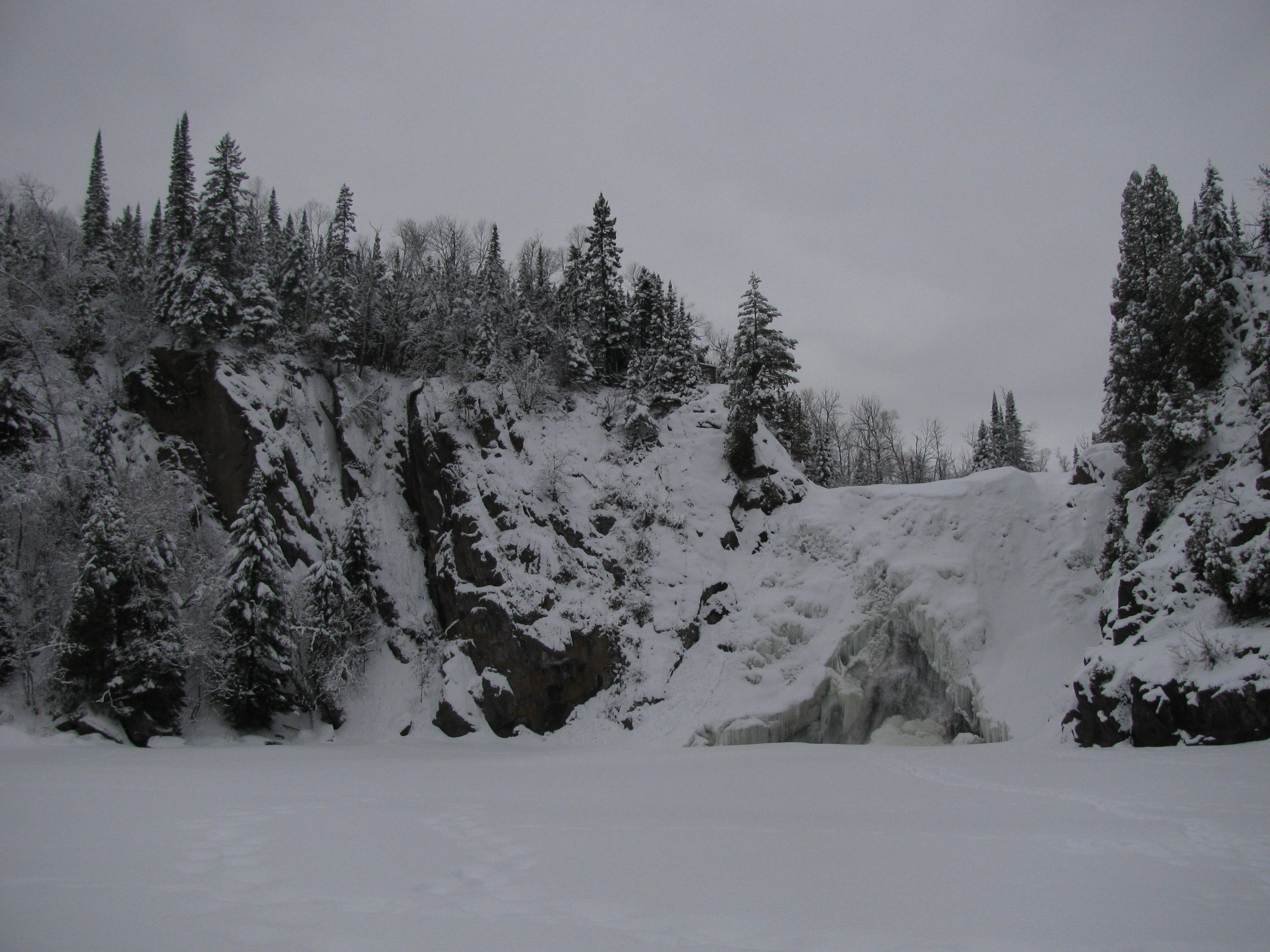 winter at Tettegouche