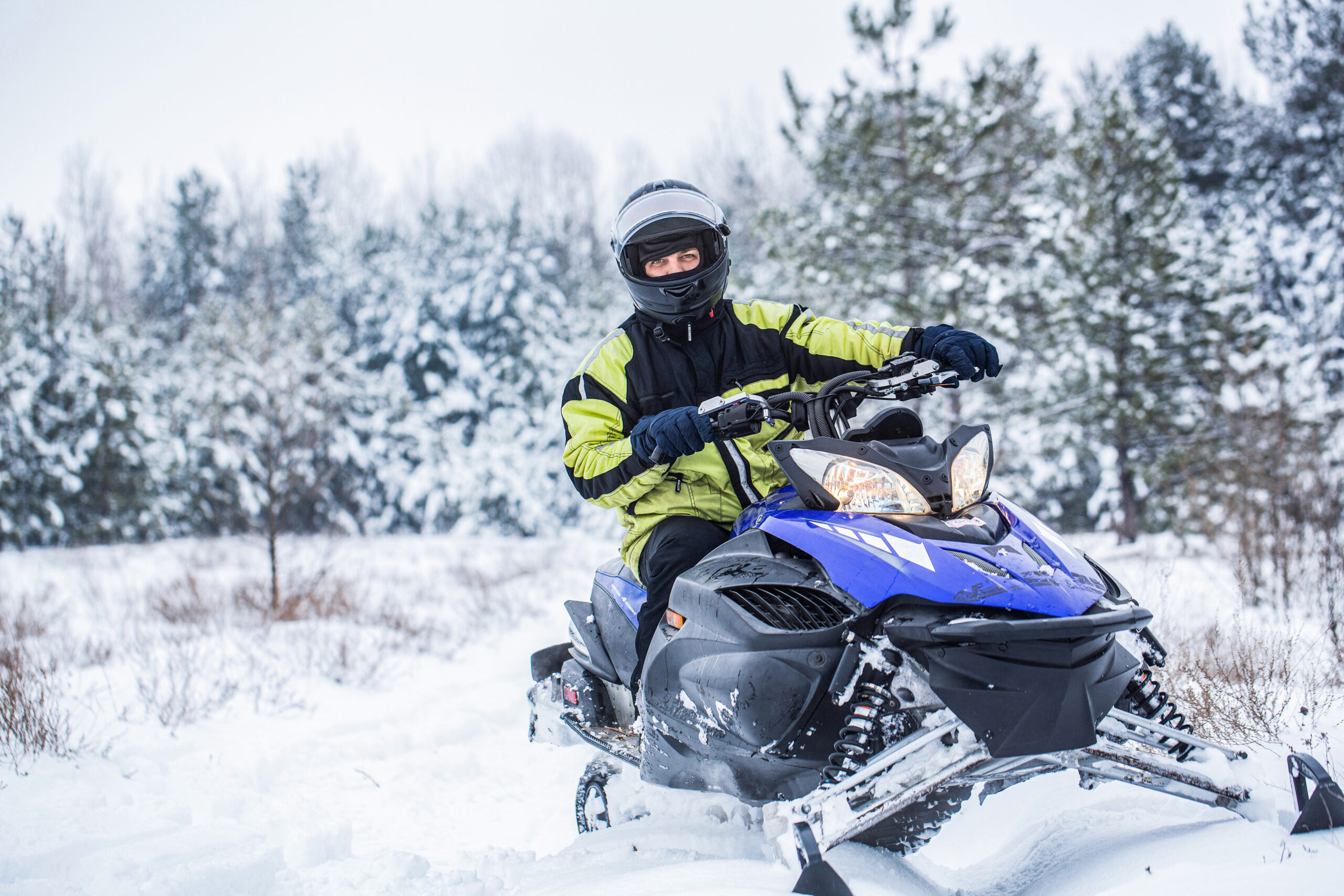 snowmobiling the north shore